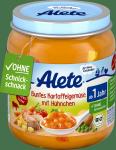 Alete Bio Kolorowe Warzywa Kurczak Ziemniaki 250g 12m