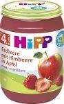 HIPP BIO Owoce Truskawki Maliny Jabłko 190g 4m