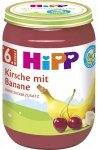 m-din HIPP BIO Owoce Banan Wiśnia Witaminy 190g 6m