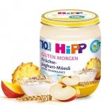 HIPP BIO Zbożowe Śniadanie Musli Ananas Jogurt 10m