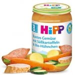 Hipp Bio obiadek Maślane Warzywa Bataty Kurczak 8m 220g
