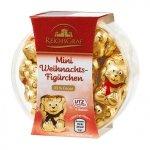 Wigilijne czekoladowe Misie 25szt 33% kakao Mikołaj