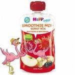 Hipp Smothie Drink Czerwone Owoce Jabłko Banan 1r 120ml