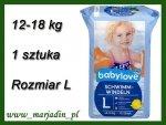 Babylove Pieluszka do pływania na Basen 12-18kg 1 sztuka