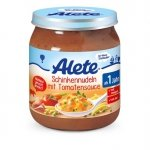 Alete Makaron Sos Pomidorowy z Szynką 250g 12m