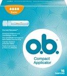 OB Compact Super Tampony z aplikatorem 16 szt