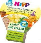 Hipp Bio Warzywa Ziemniaki Groszek Kotleciki 12m 250g
