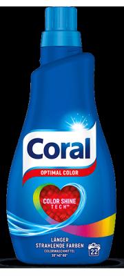 Coral Optimal koncentrat do prania Koloru 22p