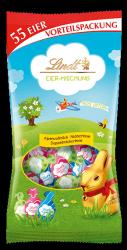 Lindt Wielkanocne Jajeczka 3 smaki 288g 55 sztuk