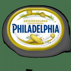 Philadelphia Serek śmietankowy z marynowane korniszony 175g