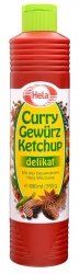 Hela Curry Ketchup Delikat do Grilla Weganski