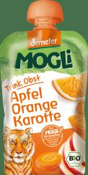 Mogli Demeter 100% Bio Jabłko Pomarańcze Marchew 100g