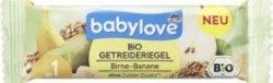 Babylove BIO Zbożowy Batonik Gruszka Banan 1r