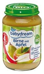 BabyDream Bio Jabłko Gruszka 4m 190g