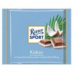 Ritter Sport Kokos czekolada Kokosowe nadzienie 100