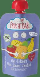 FruchtBar Bio Kiwi Truskawki Gruszka Banan Sucharki