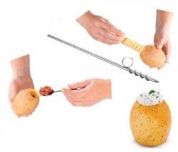 Carving Nóż Spiralny Nadziewarka Warzyw Temperówka