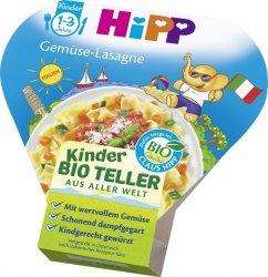 Hipp Bio Warzywna Lasagne na tacce Sos Śmietanowy 12m 250g