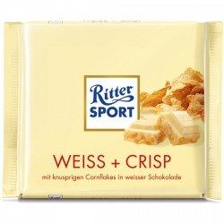 Ritter Sport Weiss Crisp Biała Czekolada Chrupki 100