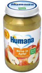 Humana BIO 100% Owoce Gruszka Jabłko