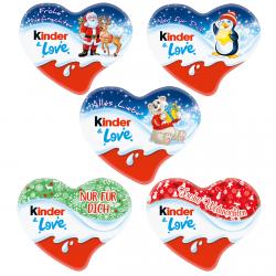 Ferrero Kinder Czekoladowe serduszko Krem Mleczny