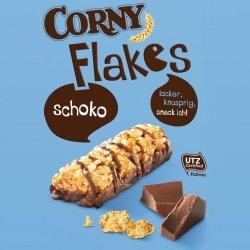 Corny Batony Zbożowe W Mlecznej Czekoladzie 4szt