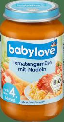 Babylove Bio Makaron Warzywa Sos Pomidorowy 4m 190g