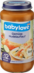Babylove Bio Lasagne Zapiekanka Warzywna 12m 250g