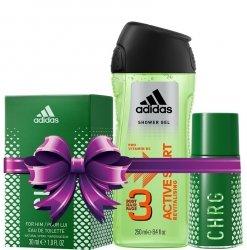 Adidas Men Zestaw Prezentowy Żel Perfum CHRG Mężczyzn