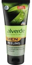 Alverde Men peeling do oczyszczania twarzy Naturalne Kosmetyki