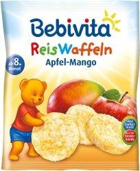 Bebivita Wafelki Ryżowe Sok Jabłkowy Mango 8m 35g