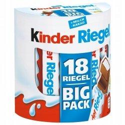 Ferrero Kinder Riegeln Batoniki Czekolada Big Pack 18