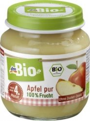 Bio Pierwsze owoce 100% Jabłko 4m 125g