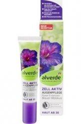 Alverde Bio Aktywny Żel Oczy Niebieski Hibiskus Wegan