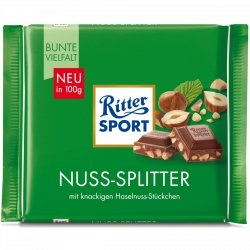 Ritter Sport Orzechy Laskowe Chrupiąca Czekolada Mleczna