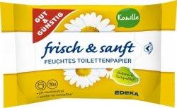 GG 70x Nawilżany rumiankowy papier toaletowy Niemiecki