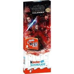 Kinder Kalendarz Adwentowy Mikołajki Star Wars