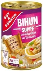 Pyszna zupa Azjatycka kurczak makaron sojowy