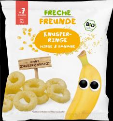 Erdbar Bio Chrupki Oponki Kukurydza Proso Banan 7m