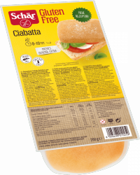 Schar Ciabatta 4x50g Bez Glutenu Laktozy