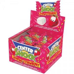 Center Shock Strawberry Mega Kwaśne guma Balonowa 100szt