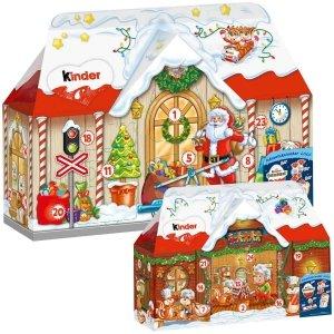 Kinder Kalendarz Adwentowy 3D Duży Domek 234g