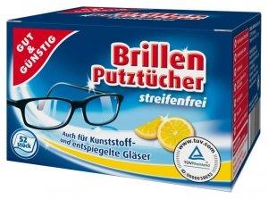 G&G Ściereczki do czyszczenia okularów 50 szt.