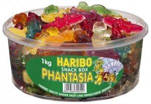 Haribo Żelki Phantasia Mix Smaków Kształtów 1kg DE