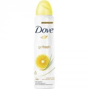 Dove Go Fresh Grapefruit dozodorant w sprayu 150ml
