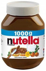 Nutella XXL krem czekoladowy mega słoik 1kg z DE