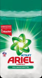 Ariel Actilift Compact proszek do prania Uniwersalny 18p