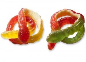 Haribo żelki owocowe Anakonda Węże z pianka XXL 35cm 5szt