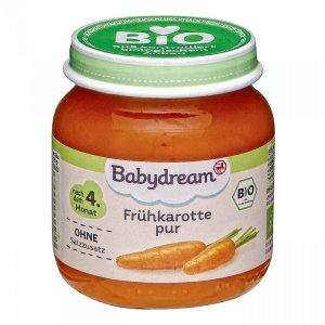 BabyDream Bio Pierwsze Warzywa Marchewka 4m 125g
