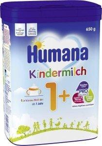 Humana 1+ mleko dla dzieci po 1r 650gr